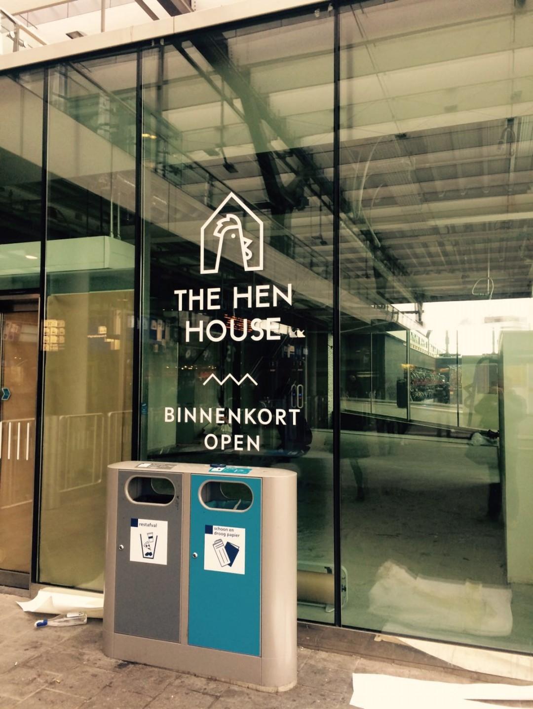 The Hen House binnekort op Centraal Station Rotterdam