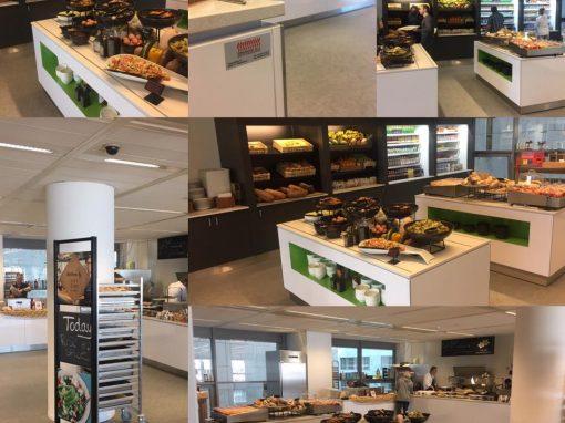 Bedrijfskkeuken kantine TomTom Amsterdam