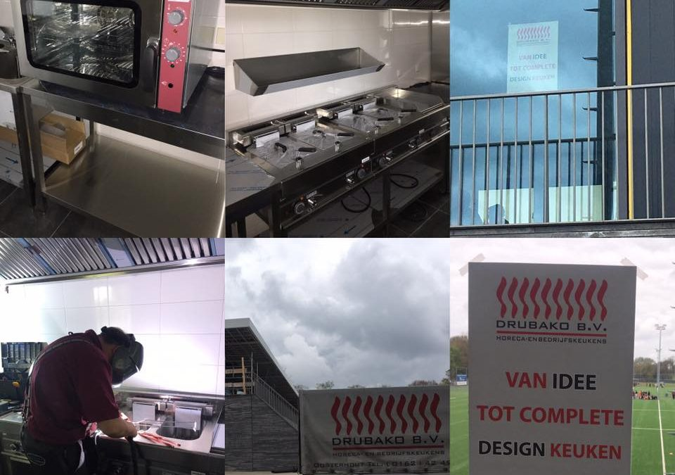 Keuken voetbalkantine TSC Oosterhout